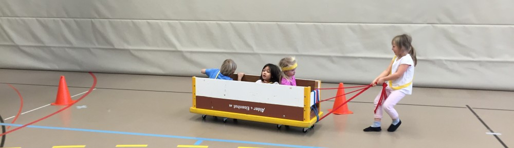 Kinderturnen für Kindergärtner